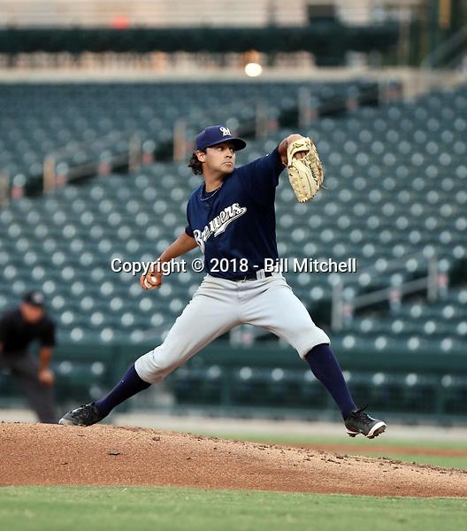 Jayson Rose - 2018 AZL Brewers (Bill Mitchell)