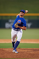 AZL Cubs 1 relief pitcher Jake Reindl (37) during an Arizona League game against the AZL D-backs on July 25, 2019 at Sloan Park in Mesa, Arizona. The AZL D-backs defeated the AZL Cubs 1 3-2. (Zachary Lucy/Four Seam Images)