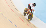 MILTON, ON, AUGUST 10, 2015. Cycling at the Velodrome. Canadian Marie Claude-Molnar (C-4W).<br /> Photo: Dan Galbraith/Canadian Paralympic Committee