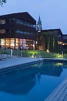 Europe/France/Aquitaine/33/Gironde/ env de Bordeaux/ Bouliac: Hotel Restaurant Hauterive Saint-James-Architecte Jean Nouvel