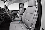 Front seat view of 2018 Chevrolet Silverado 1500 1WT Regular Cab Long Box 3 Door Pick-up Front Seat  car photos