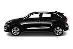 Car Driver side profile view of a 2019 KIA e-Niro More 5 Door SUV Side View