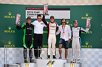 Porsche GT3 Cup Challenge Canada<br /> Formula 1 Grand Prix Du Canada<br /> Circuit Gilles Villeneuve, Montreal, QB CAN<br /> Sunday 11 June 2017<br /> GT3 CUP CAN Race 2, Platinum Podium<br /> World Copyright: Jamey Price<br /> LAT Images