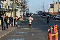 Barnesville's Fourth Anual 2012 Santa Spirit Sprint, Saturday December 1, 2012 @ 4:00 pm. A one mile point-to-point racing event. The races started at Barnesville High School and ended at Corner Fitness in downtown Barnesville, Ohio.