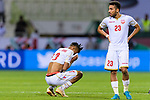 Mohamed Saad Alromaihi of Bahrain (L) and Jamal Rashed Abdulrahman of Bahrain (R) reacts after lossing the AFC Asian Cup UAE 2019 Round of 16 match between South Korea (KOR) and Bahrain (BHR) at Rashid Stadium on 22 January 2019 in Dubai, United Arab Emirates. Photo by Marcio Rodrigo Machado / Power Sport Images