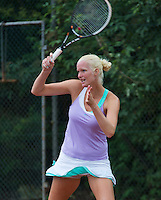 13-08-13, Netherlands, Raalte,  TV Ramele, Tennis, NRTK 2013, National Ranking Tennis Champ,  Rosalie van de Hoek<br /> <br /> Photo: Henk Koster
