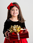WATERBURY, CT-120218JS01- Christmas Kids, Avielle Rainone, 4, of Watertown. <br /> Jim Shannon Republican American