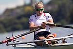 Rowing, United States Women's single sculls, Lindsay Meyer, US national rowing team, November 2, 2010, 2010 FISA World Rowing Championships, Lake Karapiro, Hamilton, New Zealand,