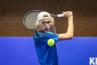 Alphen aan den Rijn, Netherlands, December 18, 2019, TV Nieuwe Sloot,  NK Tennis, Niels Lootsma (NED)<br /> Photo: www.tennisimages.com/Henk Koster