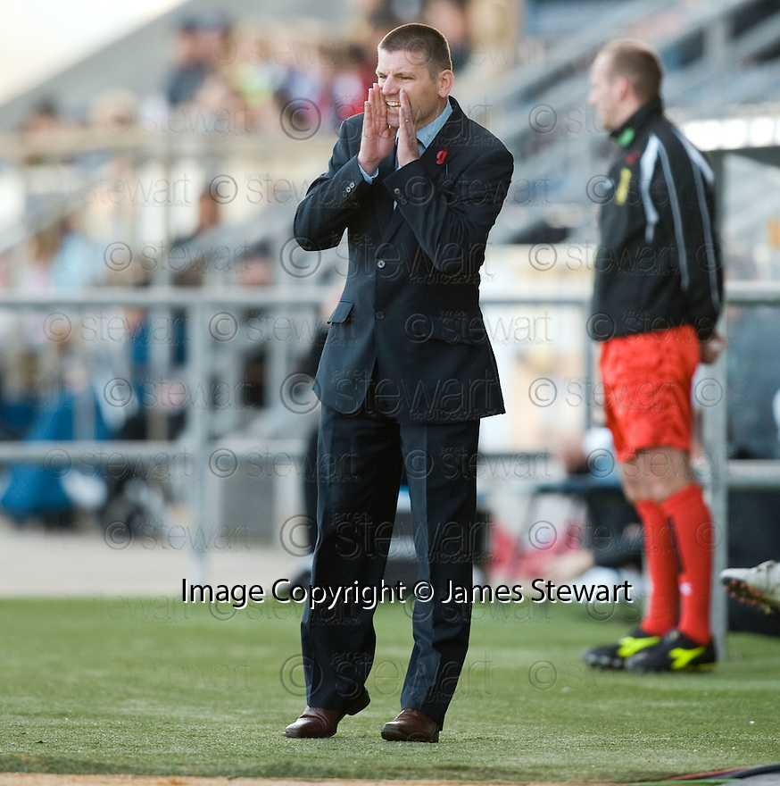 08/11/2009  Copyright  Pic : James Stewart.sct_jspa39_falkirk_v_celtic  . :: FALKIRK MANAGER EDDIE MAY DURING THE CELTIC GAME :: .James Stewart Photography 19 Carronlea Drive, Falkirk. FK2 8DN      Vat Reg No. 607 6932 25.Telephone      : +44 (0)1324 570291 .Mobile              : +44 (0)7721 416997.E-mail  :  jim@jspa.co.uk.If you require further information then contact Jim Stewart on any of the numbers above.........