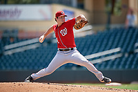 Washington Nationals pitcher Tyler Dyson (60) during an Instructional League game against the Miami Marlins on September 25, 2019 at Roger Dean Chevrolet Stadium in Jupiter, Florida.  (Mike Janes/Four Seam Images)