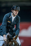 Gregory Wathelet of Belgium riding Eldorado van het Vijverhof competes during the EEM Trophy, part of the Longines Masters of Hong Kong on 10 February 2017 at the Asia World Expo in Hong Kong, China. Photo by Juan Serrano / Power Sport Images
