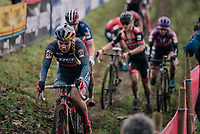 Evie Richards (GBR/Trek Factory Racing)<br /> <br /> Women's Race<br /> UCI Cyclocross World Cup Namur 2020 (BEL)<br /> <br /> ©kramon