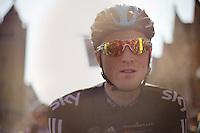 Dwars door Vlaanderen 2012.Salvatore Puccio at the start
