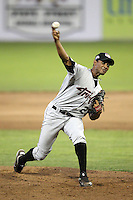 Tri-City ValleyCats pitcher Ebert Rosario #29 during a game against the Batavia Muckdogs at Dwyer Stadium on July 15, 2011 in Batavia, New York.  Batavia defeated Tri-City 4-3.  (Mike Janes/Four Seam Images)