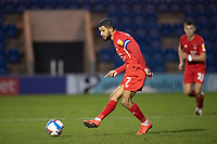 Jobi McAnuff, Leyton Orient sprays the ball wide during Colchester United vs Leyton Orient, Sky Bet EFL League 2 Football at the JobServe Community Stadium on 14th November 2020