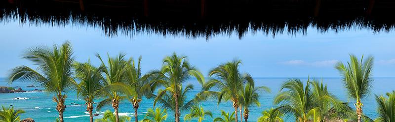 Ocean view from Four Seasons Resort. Punta Mita, Mexico.