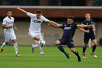Monday 20th August 2018<br /> Pictured: Swansea City's Adnan Maric<br /> Re: Swansea City U23 v Derby County U23 Premier League 2 match at the Landore Training facility, Swansea, Wales, UK