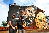 Jeremy Raymer - Tom Savini Mural