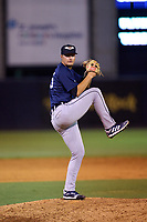 Lakeland Flying Tigers pitcher Matt Walker (25) during a game against the Tampa Tarpons on June 1, 2021 at George M. Steinbrenner Field in Tampa, Florida.  (Mike Janes/Four Seam Images)