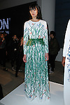 Model poses in an outfit from the Sarah Stevenson collection during the Epson Digital Couture Fall Winter 2017 fashion presentation on February 7, 2017 in the IAC Building, during New York Fashion Week Women Fall 2017.