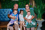 Enjoying the evening in Benners Hotel on Saturday, l to r: Joe, Lottie Mae. Daisy and Bernie Lynch with little Harper Swain,