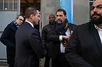 CHRISTOPHE CASTANER (DELEGUE GENERAL DE LA REPUBLIQUE EN MARCHE) - CONFERENCE DE PRESSE DE CHRISTOPHE CASTANER A PARIS, FRANCE, LE 26/01/2018.
