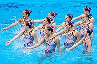 HUNGARY<br /> BARTANike'/CSILLINGKatalin<br /> FARKASLinda/GACSBoglarka<br /> GOTZLilien/HATALAHanna<br /> HUNGLERSzabina/REGENYIAdelin<br /> RENYILuca/SZABOAnna Viktoria<br /> Highlights Final<br /> Artistic Swimming<br /> Budapest  - Hungary  15/5/2021<br /> Duna Arena<br /> XXXV LEN European Aquatic Championships<br /> Photo Pasquale Mesiano / Deepbluemedia / Insidefoto