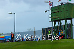 Spectators watch on during the Allianz Football League Division 1 South Round 1 match between Kerry and Galway at Austin Stack Park in Tralee.