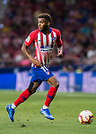 Thomas Lemar of Atletico de Madrid runs with the ball during the La Liga 2018-19 match between Atletico de Madrid and Rayo Vallecano at Wanda Metropolitano on August 25 2018 in Madrid, Spain. Photo by Diego Souto / Power Sport Images