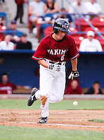 August 1 2008: David Cooper of the Yakima Bears, Short Season Class-A affiliate of the Arizona Diamondbacks, during a game at Home of the Avista Stadium in Spokane, WA.  Photo by:  Matthew Sauk/Four Seam Images