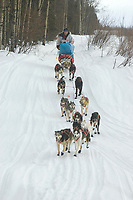 Ramy Brooks Mushes Out of Kaltag 2005 Iditarod