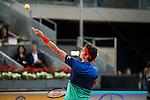Canadian Milos Raonic during Mutua Madrid Open Tennis 2016 in Madrid,  May 06, 2016. (ALTERPHOTOS/BorjaB.Hojas)