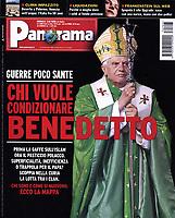 Panorama Italian Magazine,Pope Benedict XVI. 18 Gennaio 2007<br /> <br /> Photograph by Stefano Spaziani.