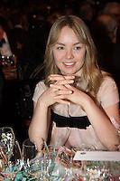 ---- PAS DE TABLOIDS, PAS DE WEB --- S.A.R. la Princesse Alexandra de Hanovre<br /> Bal de la Rose 2016 imaginÈ par Karl Lagerfeld. SoirÈe Cuba donnÈe au profit de la Fondation Princesse Grace. Monaco, 19/03/2016.