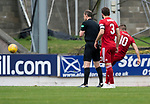 St Johnstone v Aberdeen…15.09.18…   McDiarmid Park     SPFL<br />Niall McGinn equalizes for Aberdeen<br />Picture by Graeme Hart. <br />Copyright Perthshire Picture Agency<br />Tel: 01738 623350  Mobile: 07990 594431