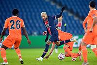 Neymar Jr (PSG) vs DENIZ TURUC (Istanbul) <br /> Paris  09/12/2020 <br /> Paris Saint Germain PSG - Istanbul Basaksehir<br /> Champions League 2020/2021<br /> Photo JB Autissier / Panoramic / Insidefoto <br /> Italy Only