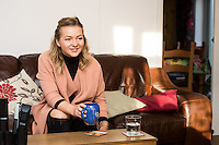 FAO: Society <br /> Pictured: Alys Phillips <br /> Re: Care worker Alys Phillips, 23, who looks after people with learning disabilities in Brecon, mid Wales, UK. Wednesday 01 February 2017