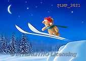 Marek, CHRISTMAS ANIMALS, WEIHNACHTEN TIERE, NAVIDAD ANIMALES, teddies, photos+++++,PLMP3421,#Xa# in snow,outsite,