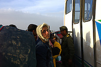 Libyan border refugees: March 2011