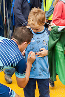 Stephen McGinn of Wycombe Wanderers during the Wycombe Wanderers 2016/17 Team & Individual Squad Photos at Adams Park, High Wycombe, England on 1 August 2016. Photo by Jeremy Nako.
