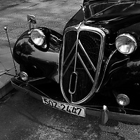 vintage Citroen car, Ho Chi Minh City, Vietnam <br /> <br /> PHOTO : Roussel Fine Art Photo