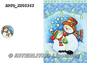 Alfredo, CHRISTMAS SANTA, SNOWMAN, WEIHNACHTSMÄNNER, SCHNEEMÄNNER, PAPÁ NOEL, MUÑECOS DE NIEVE, paintings+++++,BRTOXX05343,#x#
