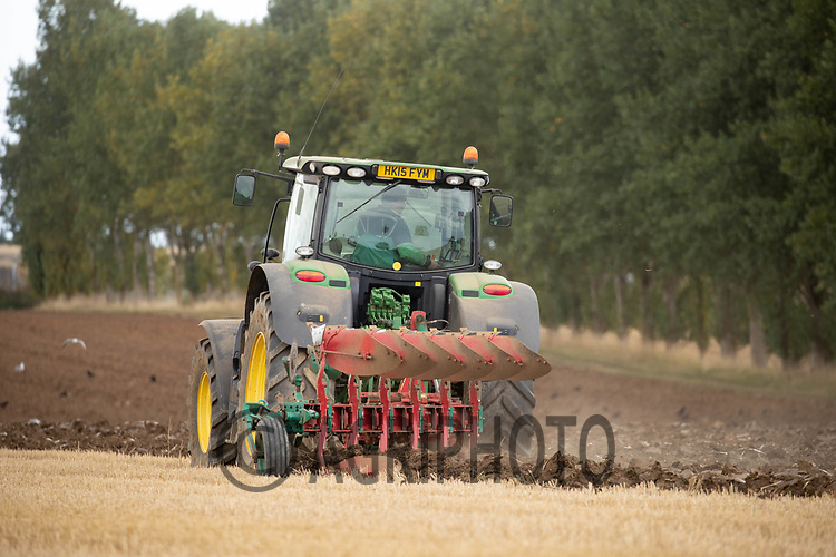 12-9-2021 Ploughing in Lincolnshire <br /> ©Tim Scrivener Photographer 07850 303986<br />      ....Covering Agriculture In The UK....