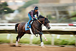 AUGUST 27, 2021: Scenes from workouts at Del Mar Fairgrounds in Del Mar, California on August 27, 2021. Evers/Eclipse Sportswire/CSM