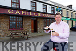 Cllr Niall Kelleher who has taken over Cahills bar in Rathmore