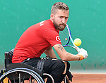 Rob Shaw, Lima 2019 - Wheelchair Tennis // Tennis en fauteuil roulant.<br /> Rob Shaw competes in Wheelchair Tennis // Rob Shaw participe en Tennis en fauteuil roulant. 28/08/2019.