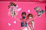 Egan Bernal (COL) Ineos Grenadiers retains the leaders Maglia Rosa at the end of Stage 11 of the 2021 Giro d'Italia, running 162km from Perugia to Montalcino, (Brunello di Montalcino Wine Stage), Italy. 19th May 2021.  <br /> Picture: LaPresse/Gian Mattia D'Alberto | Cyclefile<br /> <br /> All photos usage must carry mandatory copyright credit (© Cyclefile | LaPresse/Gian Mattia D'Alberto)