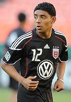 DC United midfielder Christian Castillo (12).  DC United defeated The Kansas City Wizards  2-0 at RFK Stadium, Wednesday  May 5, 2010.