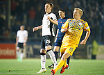 Greenock Morton v St Johnstone...27.10.15  League Cup Quarter Final, Cappielow...<br /> Liam Craig reacts to shooting wide<br /> Picture by Graeme Hart.<br /> Copyright Perthshire Picture Agency<br /> Tel: 01738 623350  Mobile: 07990 594431